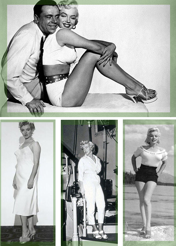 Marilyn-Monroe-In-Mules