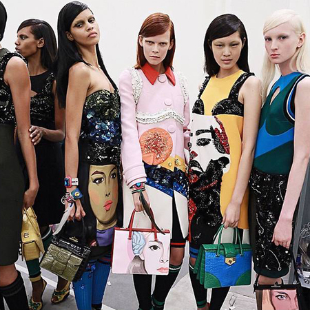 prada_handbags_group_models_milan_fashion_week_ss14