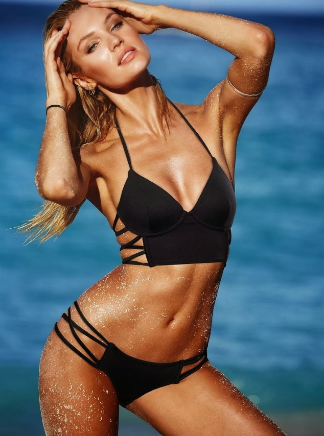 Candice Swanepoel for VS Swim, January 2014-054