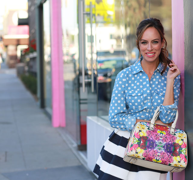 Sydne-Style-how-to-wear-mixed-prints-spring-trends-florals-stripes-polka-dots-nautical-flower-print-satchel
