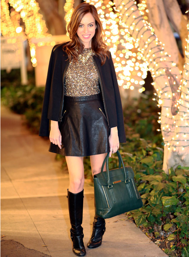 Sydne-Style-how-to-turn-a-dress-into-a-top-leather-skirt-a-line-free-people-cape-jacket-date-night-outfit-ideas