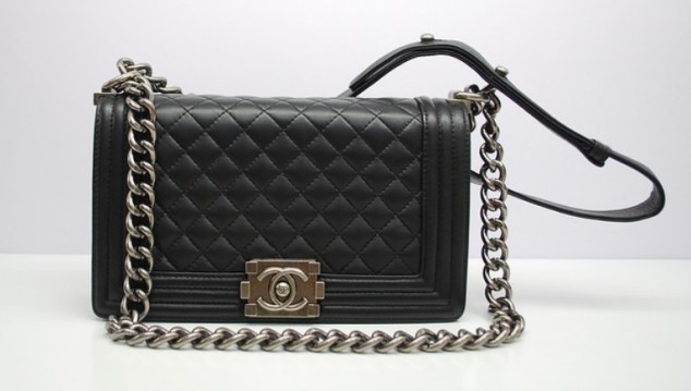 Chanel-Black-Boy-Chanel-Quilted-Medium-Bag